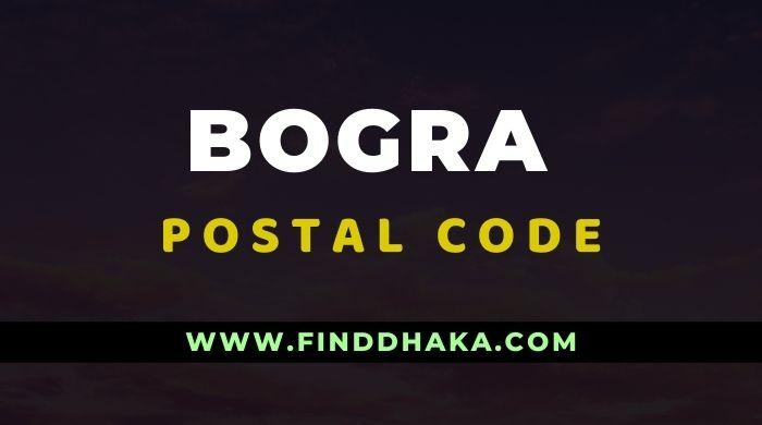 Bogra District All Post Code