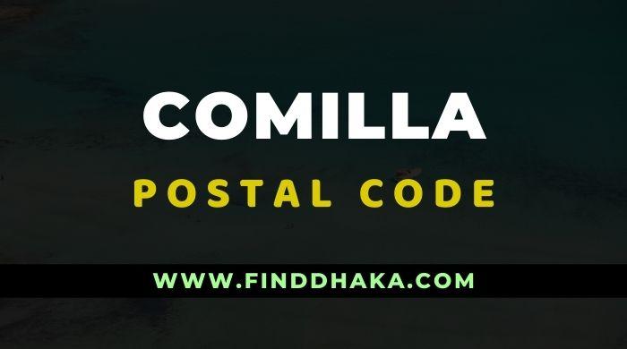 Comilla District All Post Code
