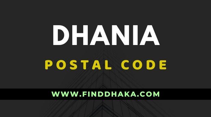 Dhania Post Code