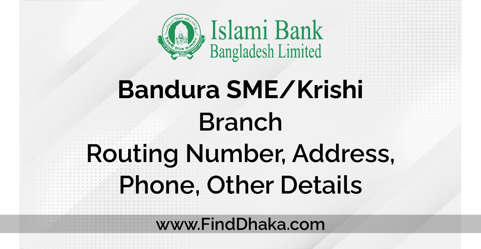 Islami Bank info007000 2