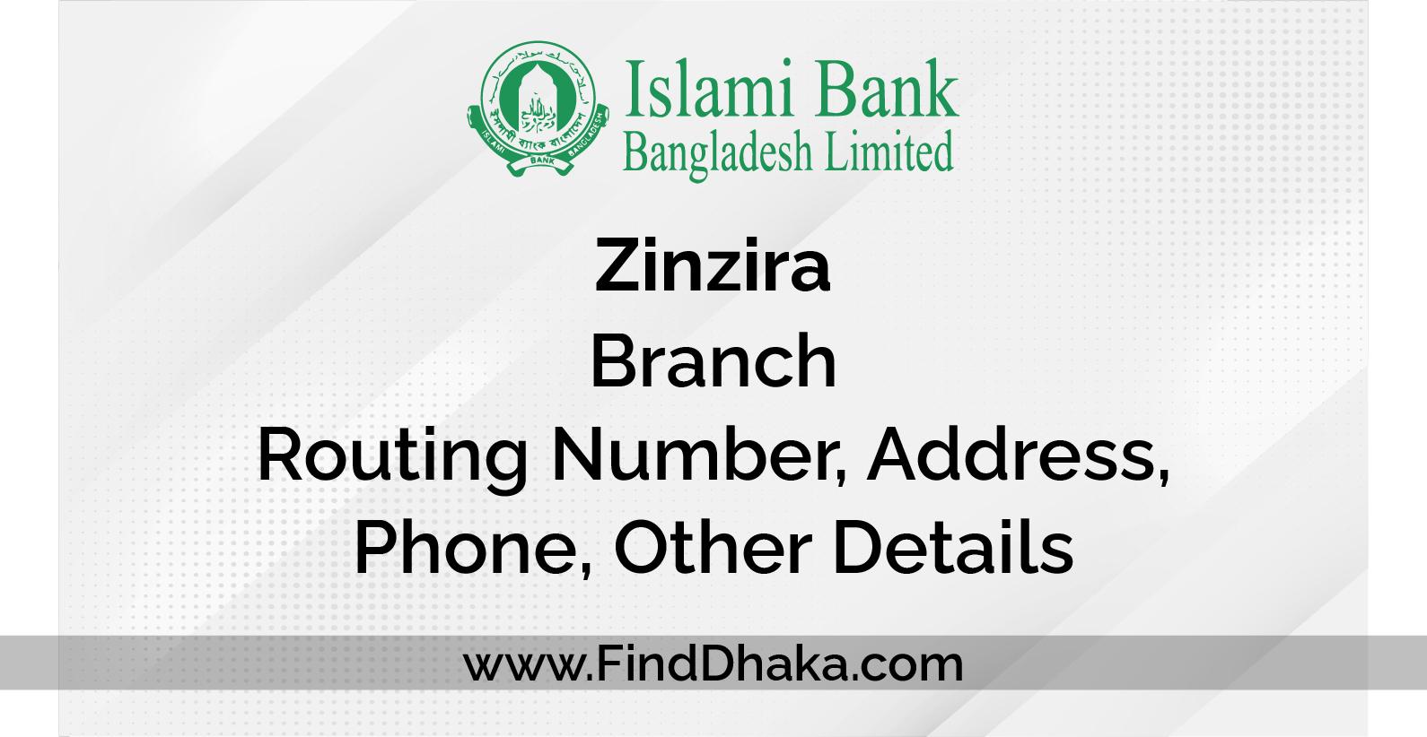Photo of Islami Bank Zinzira Branch