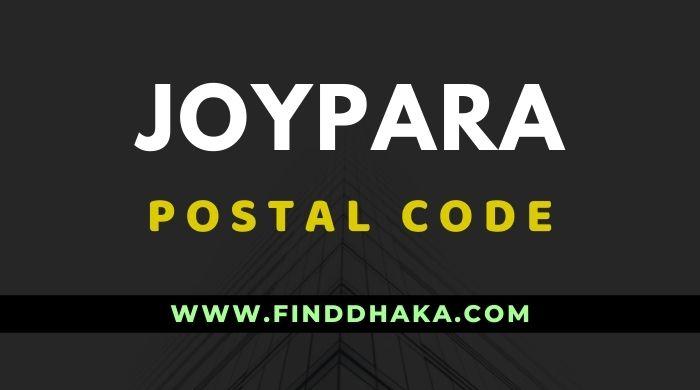Joypara Post Code