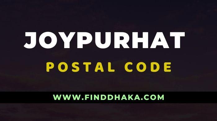 Photo of Joypurhat District All Post Code