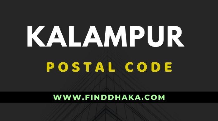 Kalampur Post Code