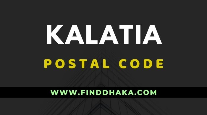 Kalatia Post Code