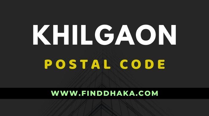 Khilgaon Post Code