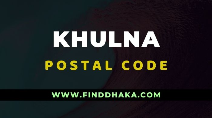 Khulna District All Post Code