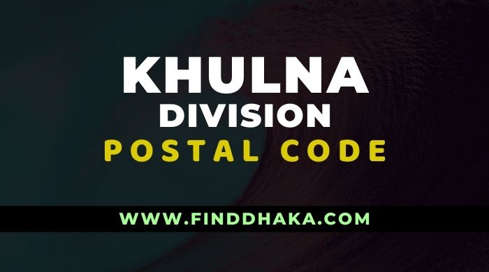 Photo of Khulna Division All Post Code