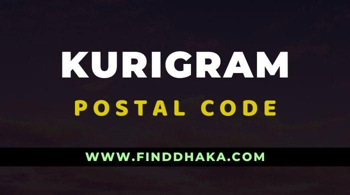 Kurigram District All Post Code
