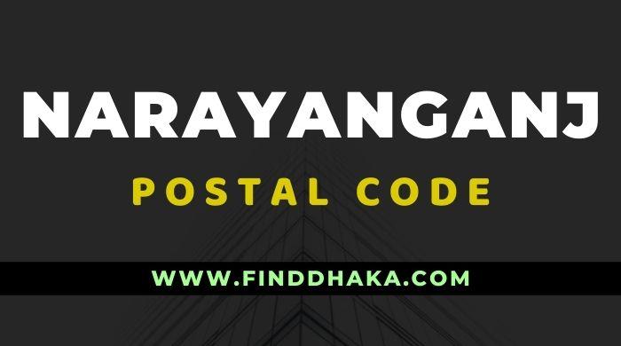 Narayanganj District All Post Code