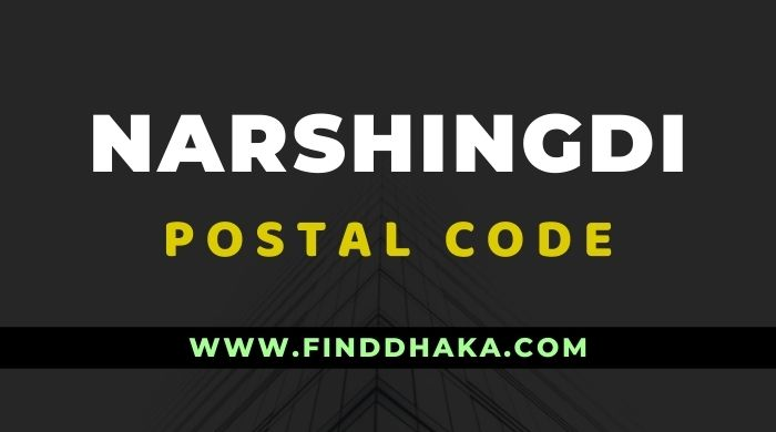 Narshingdi District All Post Code