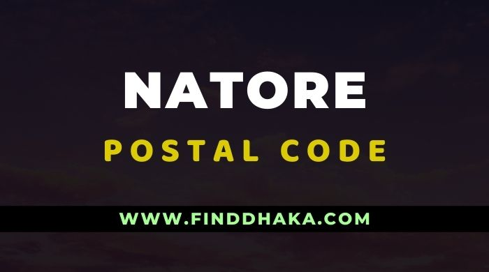 Natore District All Post Code