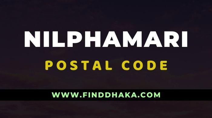 Nilphamari District All Post Code