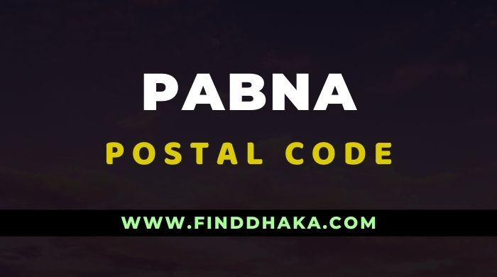 Pabna District All Post Code