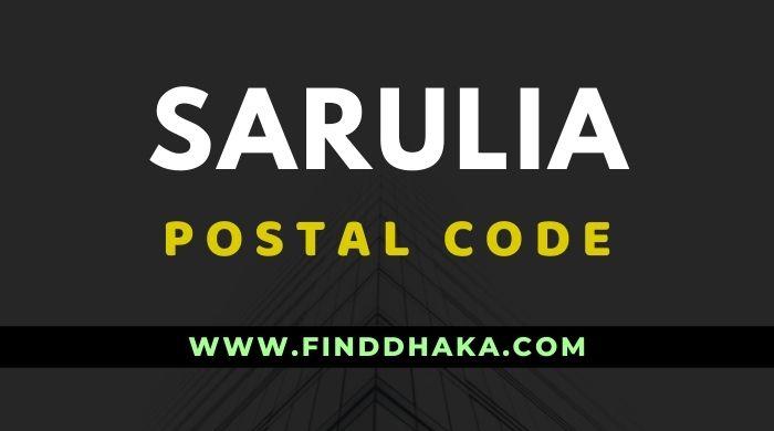 Sarulia Postal Code